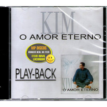 Cd Kim O Amor Eterno Play-back Vocalista Banda Catedral Raro
