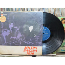 Milton Banana Trio Garota Ipanema Bossa Nova Lp Odeon Stereo