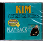 Cd Kim Certas Canções Play-back Vocalista Banda Catedral