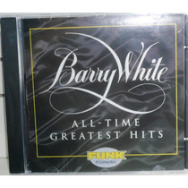 Funk Black Dance Pop Cd Barry White All Time Gratest Hits