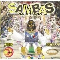 Sambas De Enredo 2008 Grupo De Acesso A & B Cd Duplo Lacrado