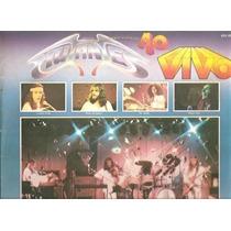 Vinil - Mutantes - Ao Vivo - Som Livre - 1976