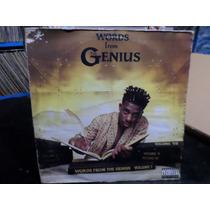 The Genius - Words From . Lp . Importado. Hip Hop. Classico