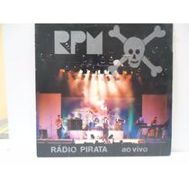 Lp Rpm - Radio Pirata Ao Vivo- Epic- 1986- Encarte