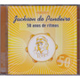 Jackson Do Pandeiro Cd 50 Anos De Ritmos - 2 Cds - Seminovo