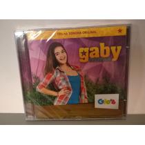 Cd Gaby Estrella - Trilha Sonora Original Novo Lacrado