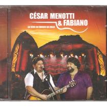 Cd Cesar Menotti Fabiano - Ao Vivo Morro Da Urca - Preta Gil