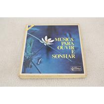 Box Lp Vinil Música Para Ouvir E Sonhar, 8 Discos