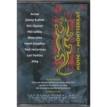 Music For Montserrat - Eric Clapton-phil Collins - Dvd Novo