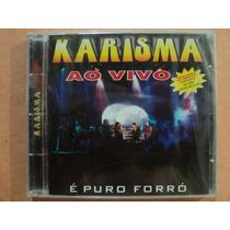 Banda Karisma- Cd Ao Vivo- 2001- Original- Lacrado!