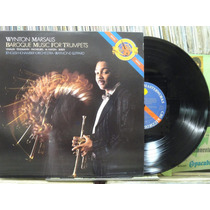 Wynton Marsalis Baroque Music For Trumpetes Lp Jazz Blues