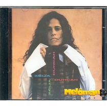 Zélia Duncan 1994 St Cd Não Vá Ainda Com Letras