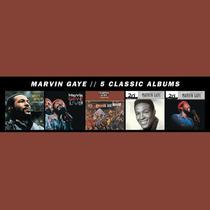Marvin Gaye - Classic Albums Box 5cds Lacrado Importado