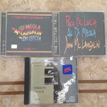 Al Di Meola/ Paco De Lucia/ John Mclaughlin 3 Cd´s
