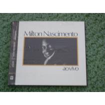 Cd Milton Nascimento Ao Vivo - Milton Nascimento (lacrado)