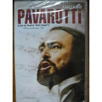 Dvd Luciano Pavarotti Live In Teatre Barcelona 89