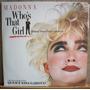 Vinil Lp Madonna - Trilha Sonora Do Filme Quem É Essa Garota