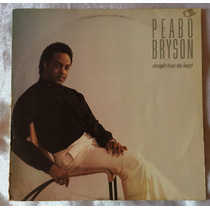 Lp Vinil Peabo Bryson, Straigth From The Heart 1984