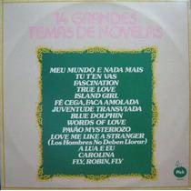 14 Grandes Temas De Novelas - Lp Nacional 1976