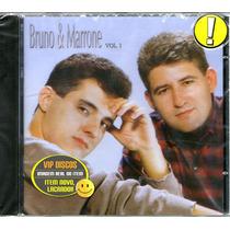 Cd Bruno E Marrone Vol 1 - Novo Lacrado Raro