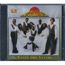 Cd Grupo Altos Louvores - Santo Dos Santos [bônus Playback]
