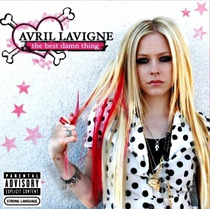 Avril Lavigne The Best Damn Thing Cd Original Novo Lacrado