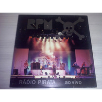 Lp Rpm-rádio Pirata Ao Vivo C/encarte