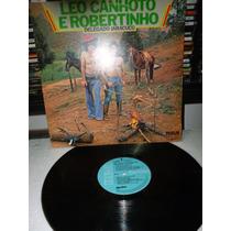 Leo Canhoto E Robertinho Delegado Jaracuçu Lp Raro 1977
