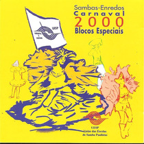 Cd - Sambas Enredo São Paulo - Carnaval 2000 - Blocos