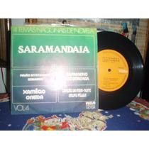 Saramandaia Cp Vinil 4 Temas Nacionais De Novela 1976