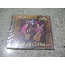 Cd - Vieira E Vieirinha Reis Da Catira Volume 2