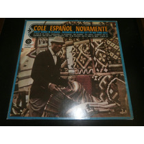 Lp Nat King Cole - Cole Español Novamente, Vinil Seminovo