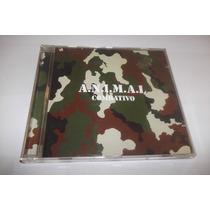 Cd - A.n.i.m.a.l - Combativo - Rock Argentino - De La Tierra