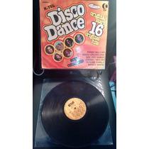 Disco Vinil Disco Dance K-tel 16 Original Hits