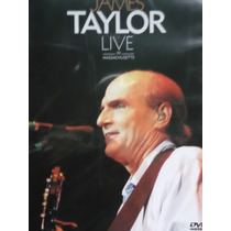 Dvd James Taylor Live In Massachusetts