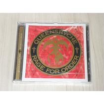 Cd Queensryche - Rage For Order (remaster + 4 Bônus) Lacrado