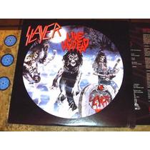 Lp Picture Imp Slayer - Live Undead (1984) Novo C/ Encarte