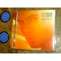 Cd Enrique Iglesias - Euphoria (2010) C/ Pitbull Akon Usher