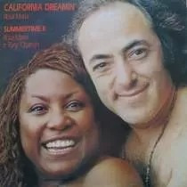 1 Lp Rosa Maria E Tony Osanah 1988 California Dreamin