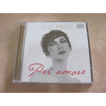 Zizi Possi Per Amore Cd Original