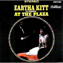 Cd / Eartha Kitt (1986) In Person At The Plaza (importado)