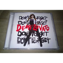 Cd Demi Lovato: Dont Forget (lacrado)