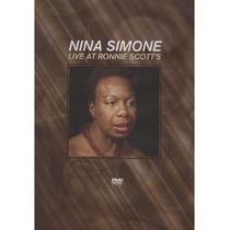 Nina Simone Live At Ronnie Scotts Dvd Lacrado Original Raro