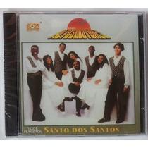 Cd Altos Louvores Santo Dos Santos Voz E Play Back Lacrado