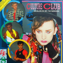 Lp - Culture Club - Colour By Numbers - Vinil Raro