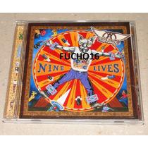 Aerosmith - Cd Nine Lives Importado Japão