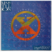 Cd Marillion - A Singles Collection = Garden Party - Cover