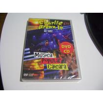 Dvd + Cd Charlie Brown Jr Musica Popular Caiçara Ao Vivo