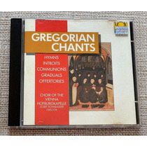 Cd Gregorian Chant Choir Of The Vienna Hofburgkapelle - Usa