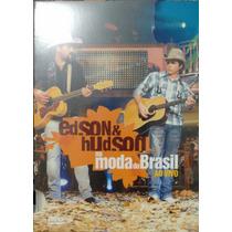 Dvd Edson & Hudson - Na Moda Do Brasil Ao Vivo